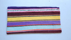 Lumbar Kilim Pillow 12inx24in