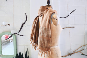 Summer Pestemal Scarf in Mustard