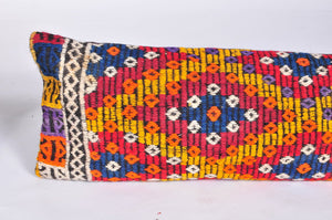Lumbar Kilim Pillow 12in x 48in