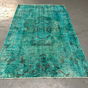 Vintage Over dyed Isparta Rug