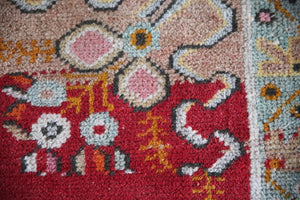 Vintage Turkish Faded Southern Anatolian Rug 3ftx5.11ft