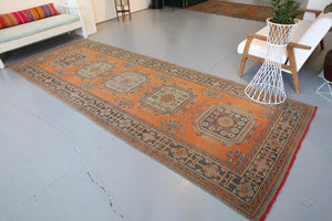 Old Konya Sille Runner Rug 4.8ftx12.3ft