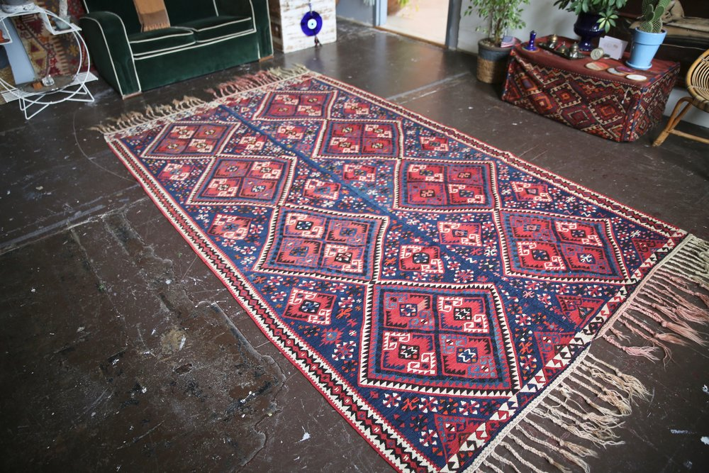 Old Van Kilim 5.9ftx10.7ft