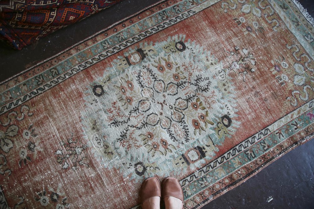 Vintage Turkish Southern Anatolian Rug 3.4ftx6.3ft