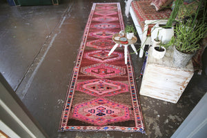 Vintage Herki Runner 2.6ftx12ft