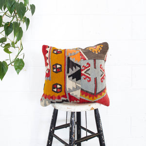 Turkish Sivas Sarkisla Kilim Pillow