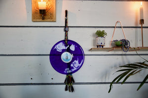 Glass evil eye protection, wall hanging decoration