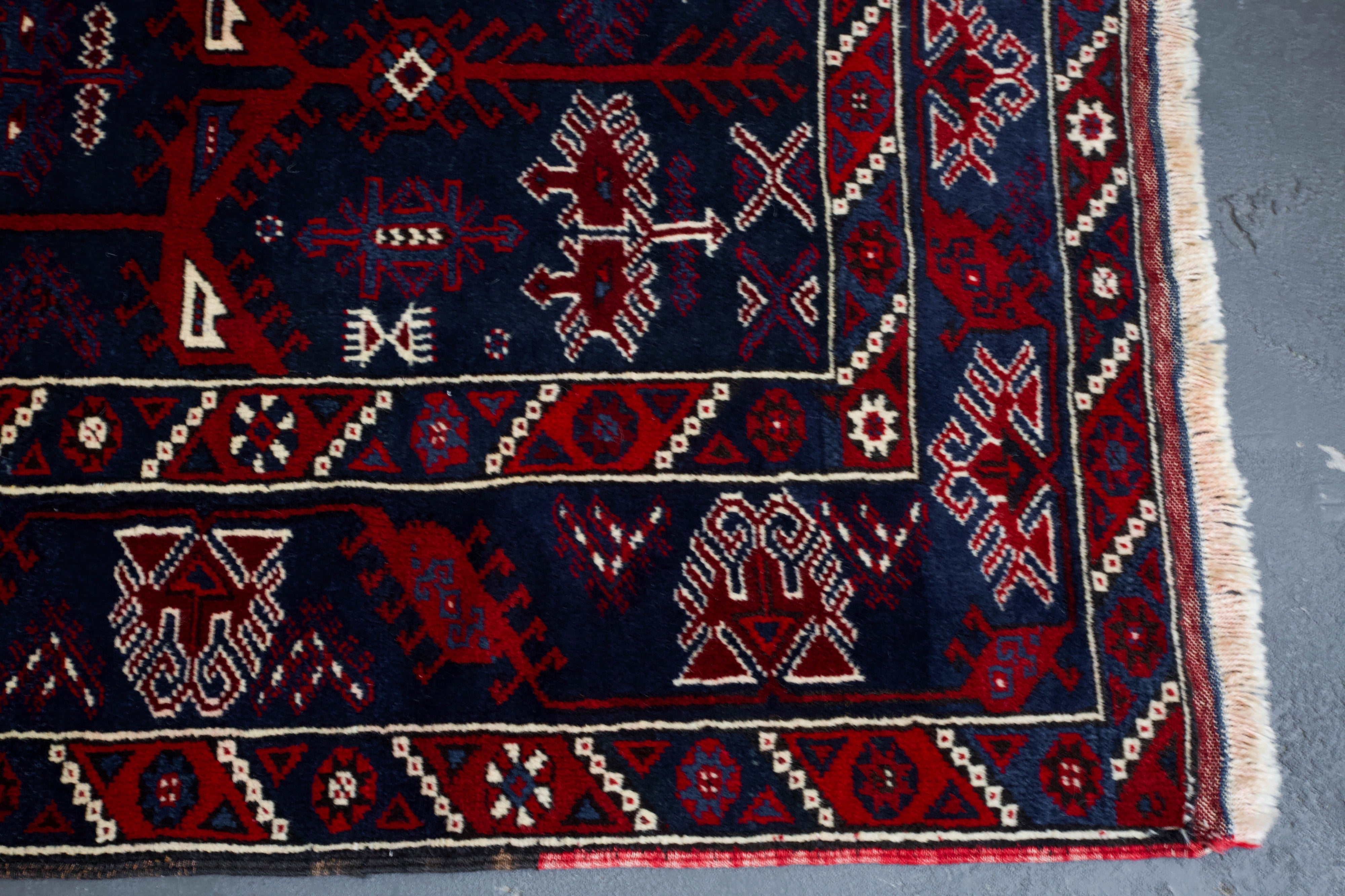 old rug, antique rug, Turkish rug, Portland, Oregon, rug store, rug shop, local shop, bright colors, wild shaman, area rug, red rug, bold color, burgundy, dark red, rug shop, portland, Anatolian rug