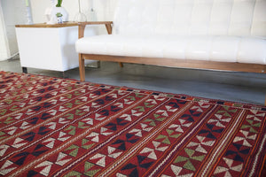 Old Aegean Kilim 7.2ftx11ft