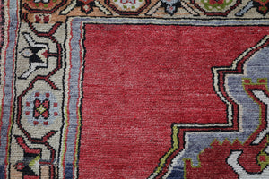 Old Anatolian Runner Rug 5ftx10.9ft
