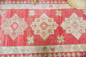 Old Kurdish Herki Runner 2.11ftx11.2ft