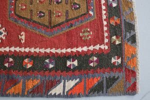 Old Sivas Sarkisla Kilim 5.2ftx9.10ft