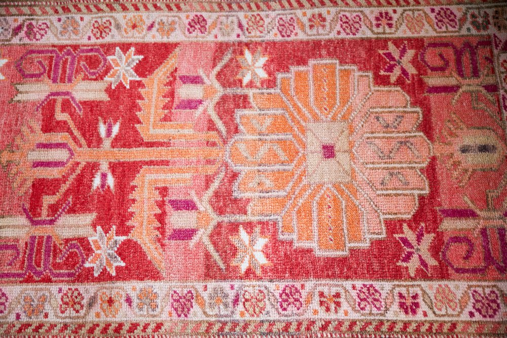 Vintage Herki Runner 2.11ftx14.11ft