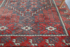 Vintage Mini Turkish Rug 2.7ftx4ft