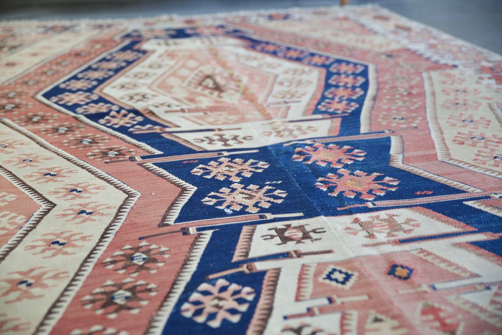 Old Nigde Kilim 5.11ftx15.6ft