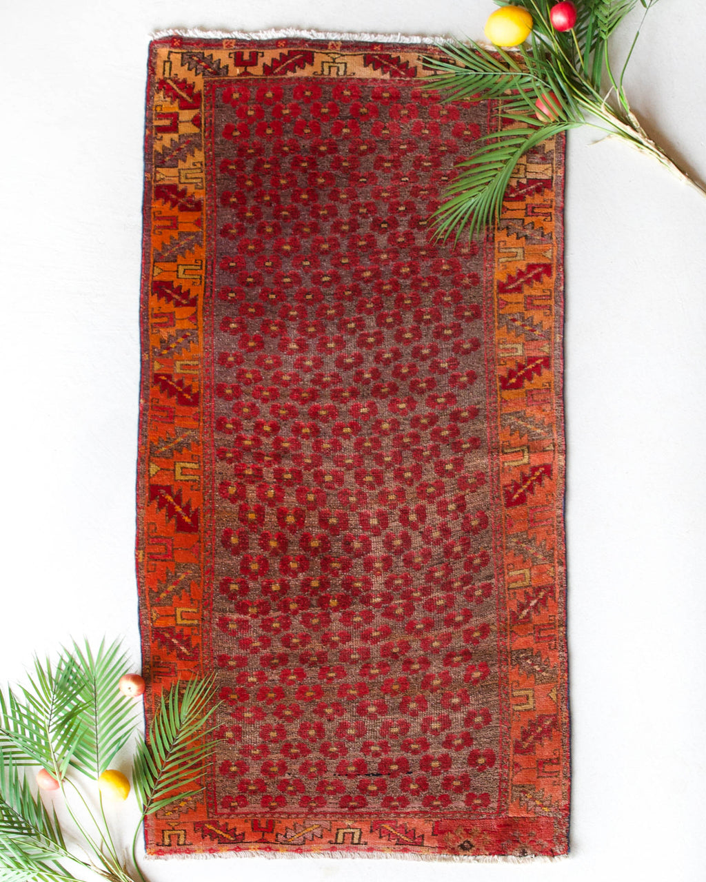"Vintage central Anatolian Rug 2'3""x5'4"""