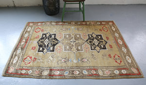 Old Milas Rug 3.9ftx5.9ft