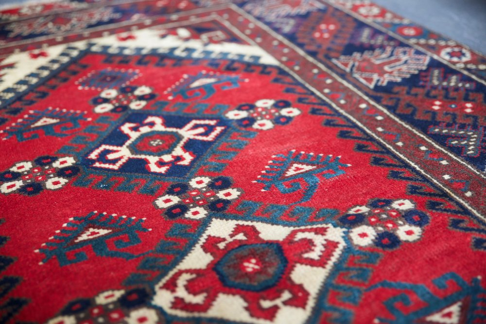 Old Antalya Dosemealti Carpet 4ftx6ft