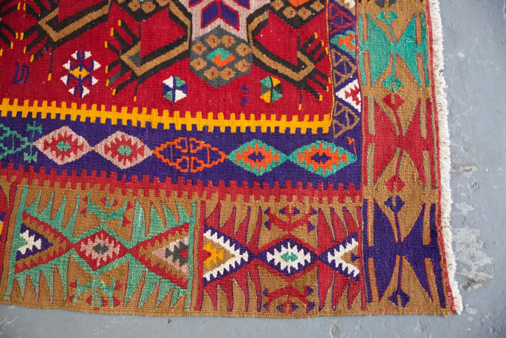 Old Maras Kilim 8.2ftx13ft