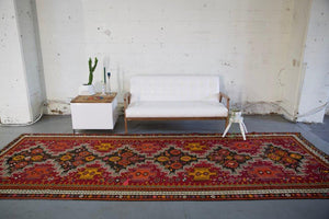 Old Kars Kilim 5.3ftx13.8ft