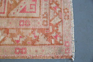 Old Turkish Anatolian Rug 4.7ftx9.3ft