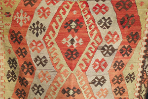 Old Kirsehir Kilim 4.4ftx6.4ft