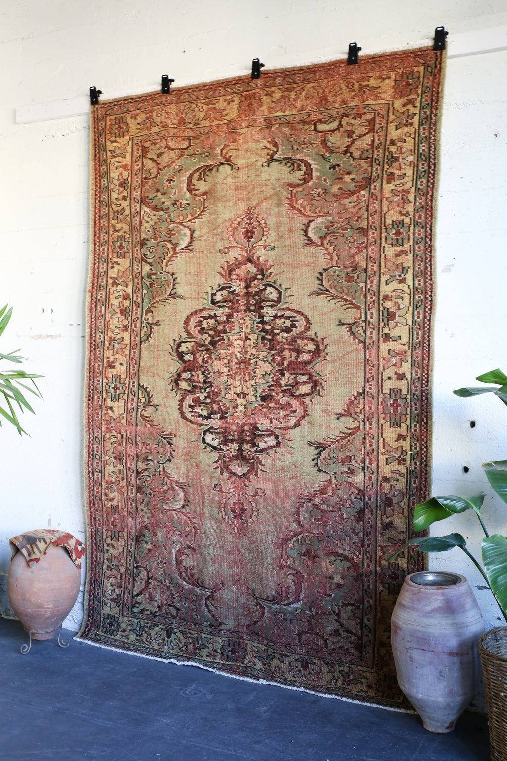 Old Isparta Rug 6.7ftx9.7ft