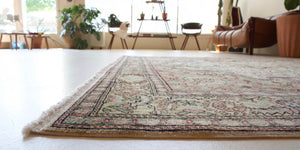 "Vintage Turkish Kayseri Rug 6'6"" x 9'10"""