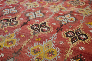 Old Sivas Sarkisla Kilim 8.2ftx11.10ft