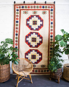 pile rug, Turkish rug, vintage rug, portland, rug shop, bright colors, wild shaman, soft rug, bold color, Portland, Oregon, rug store, rug shop, local shop, white rug