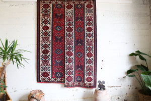 Semi-Antique Turkish Van Kilim Rug 5'x7'7""