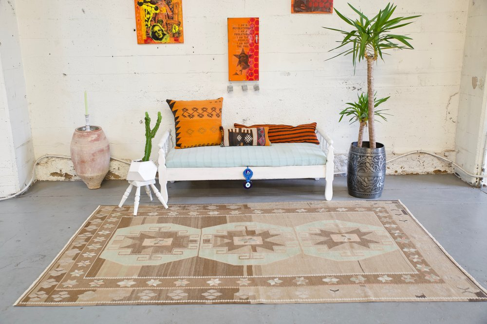 Old Kars Kilim 5.6ftx8.10ft