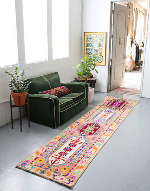Old Herki Runner 2.6ftx11ft