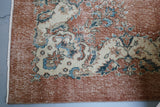Vintage Turkish Isparta Rug 7.6ftx11.2ft
