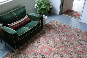 "Old Kayseri ""Holbein"" Rug 6.4ftx9.6ft"