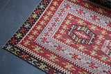 Old Oushak Esme Kilim 5.4ftx10ft