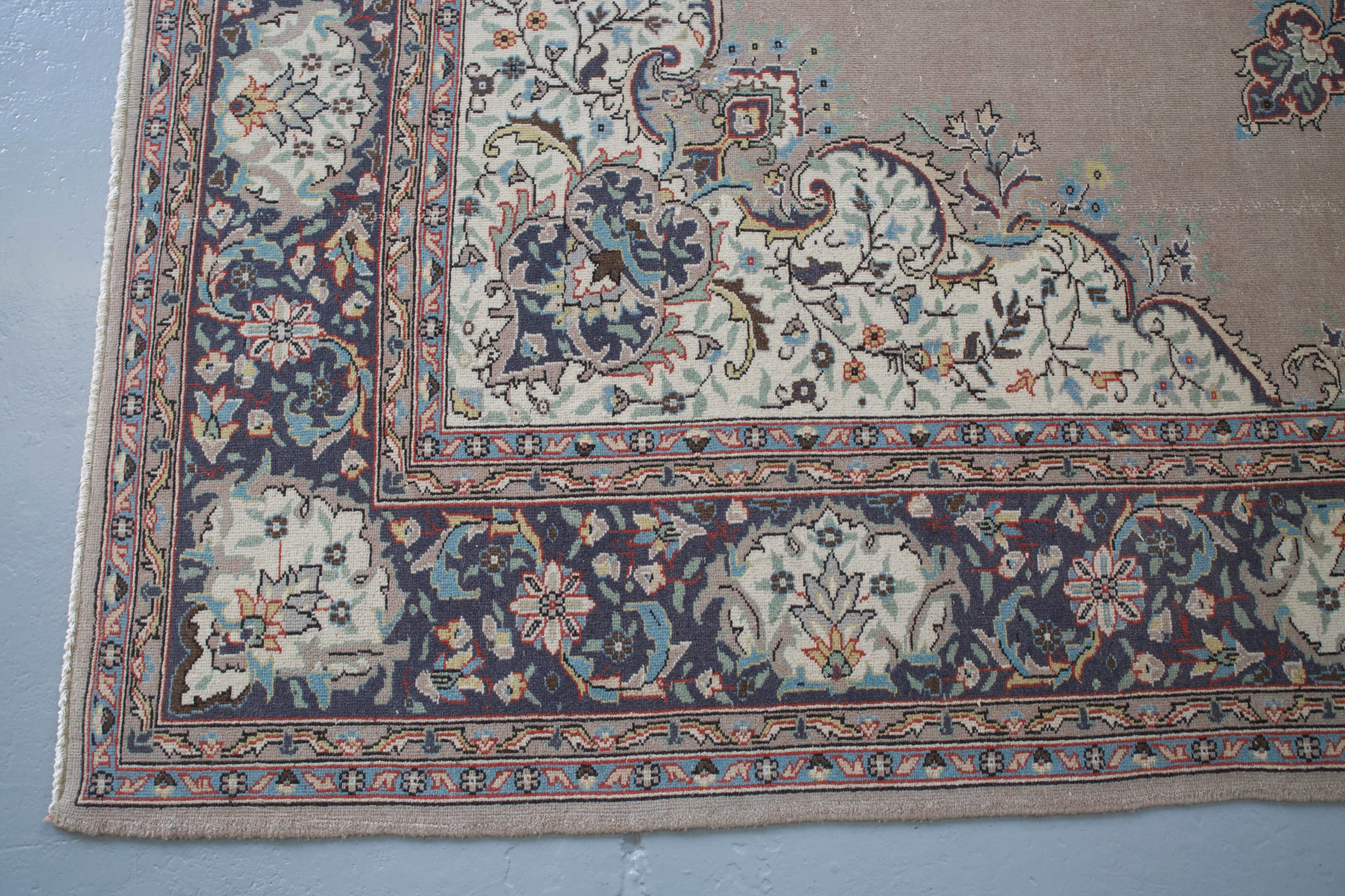 Vintage Turkish Isparta Rug