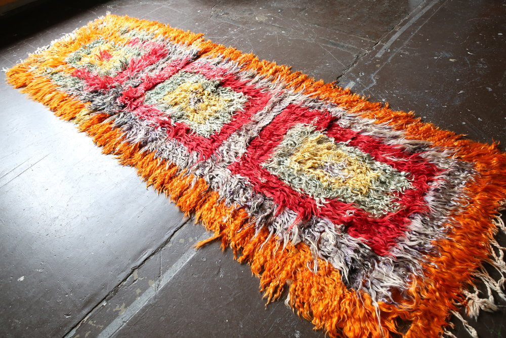 Old Filikli Tulu Rug 3.9x11.4ft