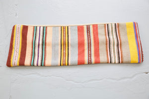 Lumbar Kilim Pillow 12in x 36in