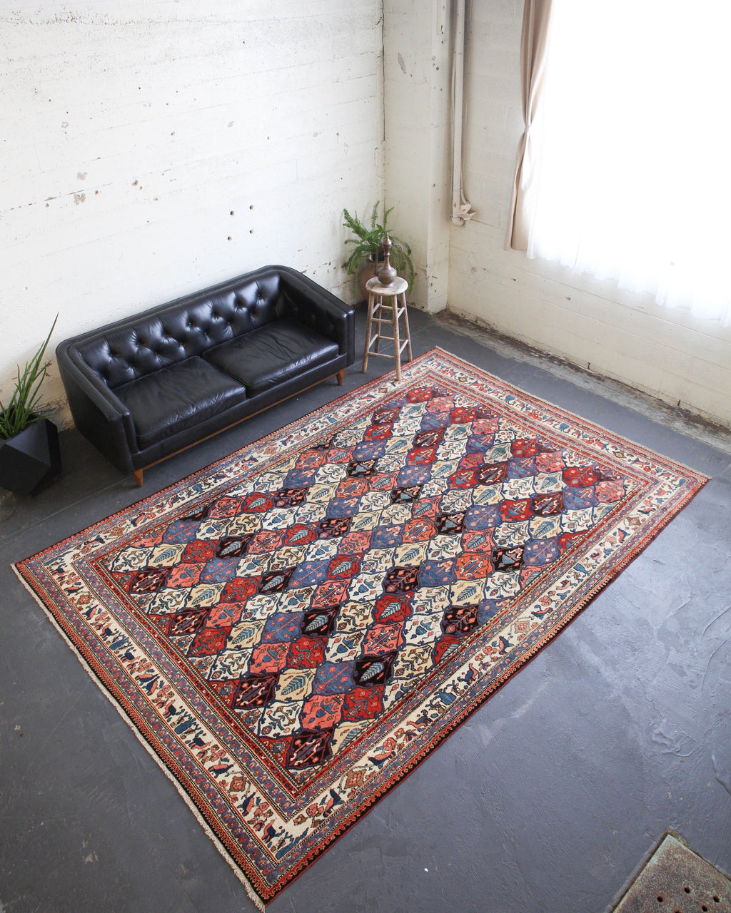 pile rug, Persian rug, vintage rug, portland, rug shop, bright colors, wild shaman, soft rug, bold color, Portland, Oregon, rug store, rug shop, local shop