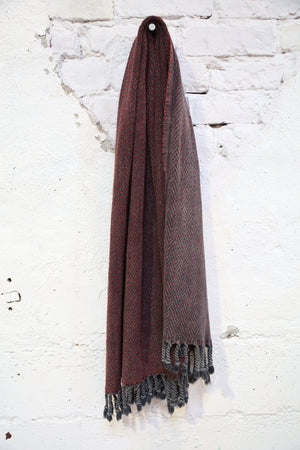 Handwoven Sabah Pestemal Towel in Red(soft)