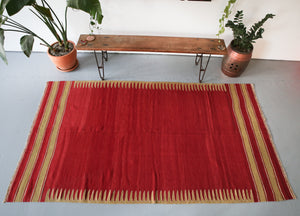 Old Bodrum Bos Kilim 5ftx9ft
