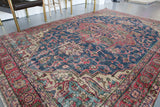 Old Anatolian Rug 6.6ftx9.6ft