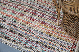 Old Aegean Cicim Kilim 3.9ftx10ft