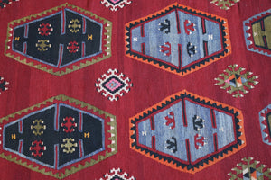 Old Sivas Sarkisla Kilim 8ftx11.9ft
