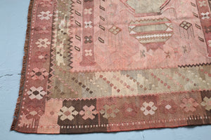 Old Turkish Kars Saf Kilim 6ftx11.2ft
