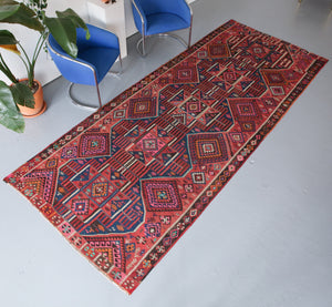 Old Van Kilim 5.3ftx13.3ft