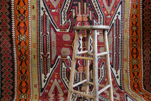 Semi-Antique Turkish Corum Kilim Rug *EXCLUSIVE*