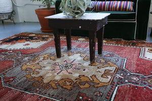Old Turkish Kars Rug 6.2ftx9ft