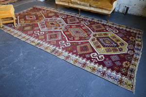 Old Kayseri Sihli Kilim 6.3ftx12.6ft